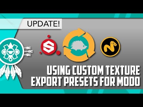 MODO] Use Custom Export Presets with the Substance Painter LiveLink