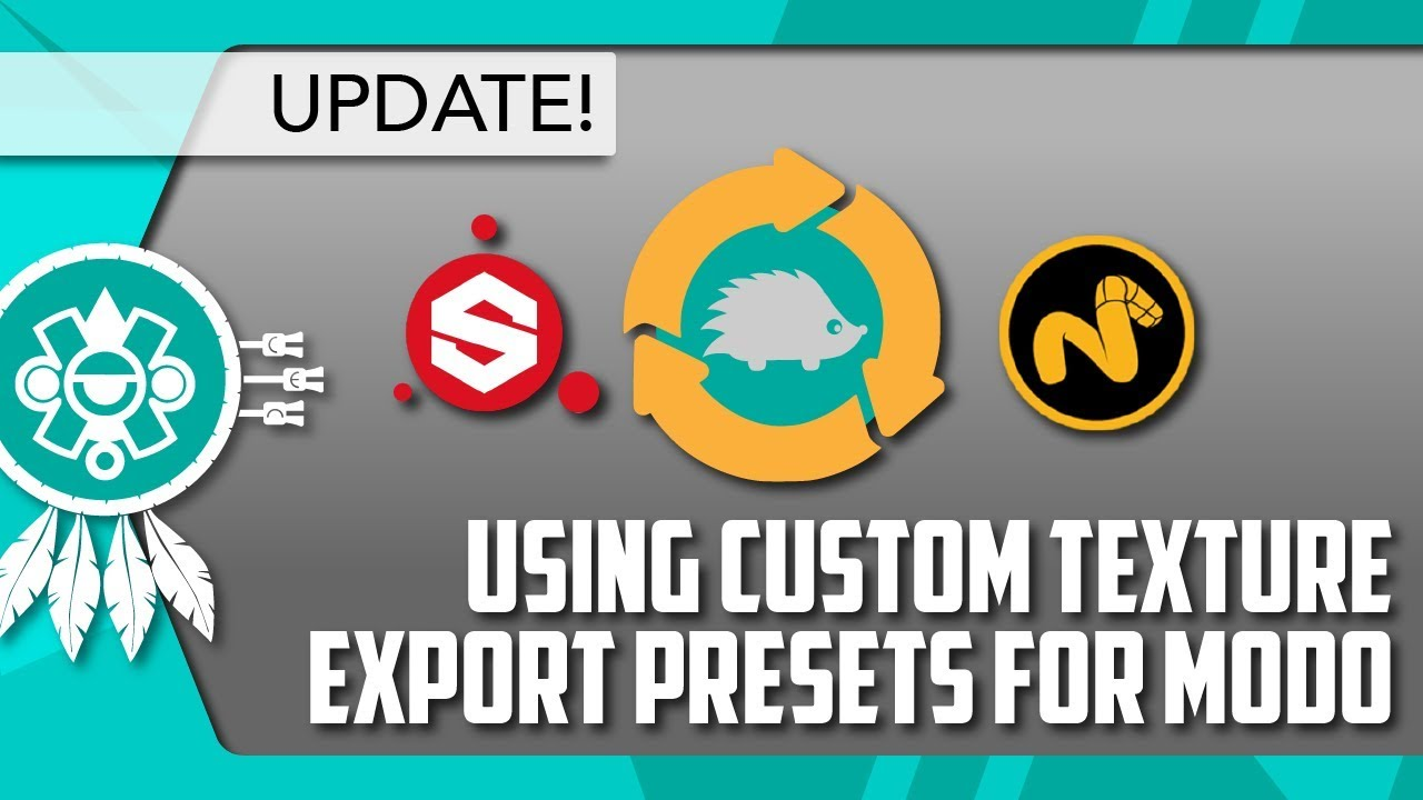 [MODO] Use Custom Export Presets with the Substance Painter LiveLink  **UPDATE**