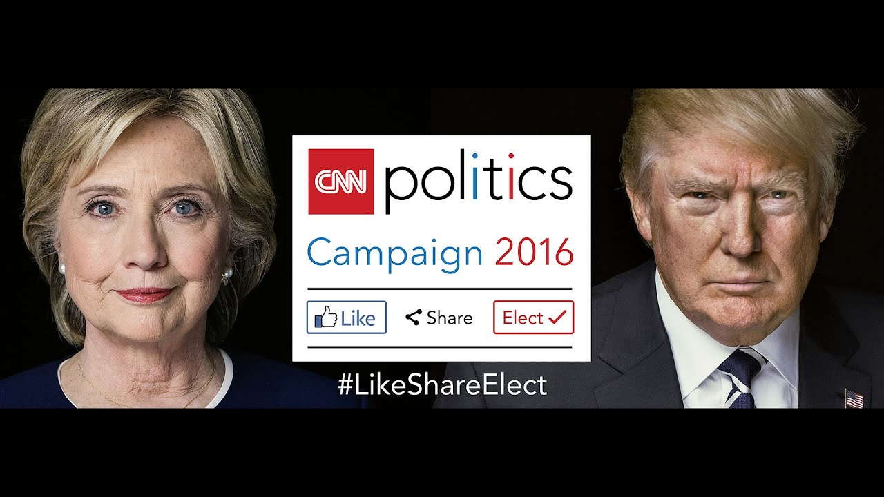 """CNN Politics Campaign 2016: Like, Share, Elect"" With Wolf Blitzer"