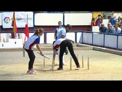 Final Campeonato de España de Bolo Femenino