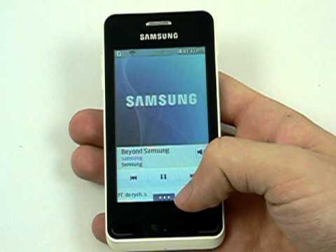 Samsung Wave 723 - hudba a galerie
