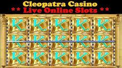 Cleopatra Casino Live Online Slots