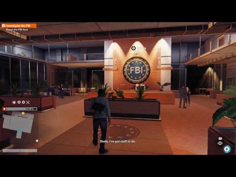 WATCH_DOGS 2 Investigate the FBI (Full Stealth)