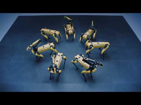 Los perros robóticos de Boston Dynamic