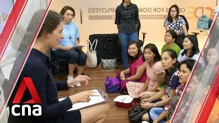 Myanmar lifts five-year ban on sending domestic helpers to Singapore