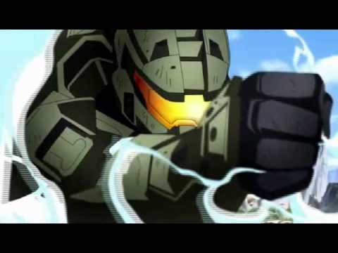 Halo Legends AMV - Unknown Soldier - Breaking Benjamin