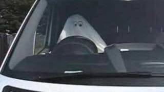 White Van Ghost - Apparition of a dead man at the wheel!