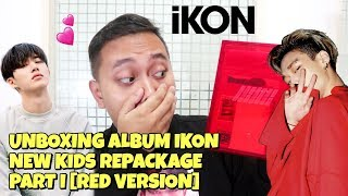 iKON NEW KIDS REPACKAGE ALBUM UNBOXING PART I [RED VERSION]