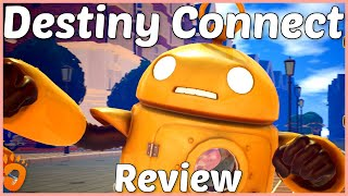 Review: Destiny Connect: Tick-Tock Travelers (Reviewed on PS4, also coming to Nintendo Switch) (Video Game Video Review)