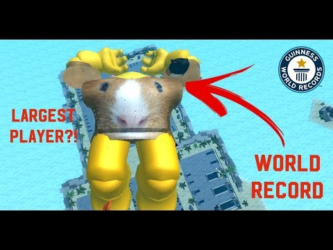LARGEST PLAYER (WORLD RECORD) | Roblox Weight Lifting Simulator 3