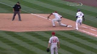Umpire review confirms Phillies