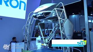 CES 2018 - Omron Forpheus Ping Pong Robot