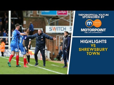 HIGHLIGHTS | The Posh vs Shrewsbury Town