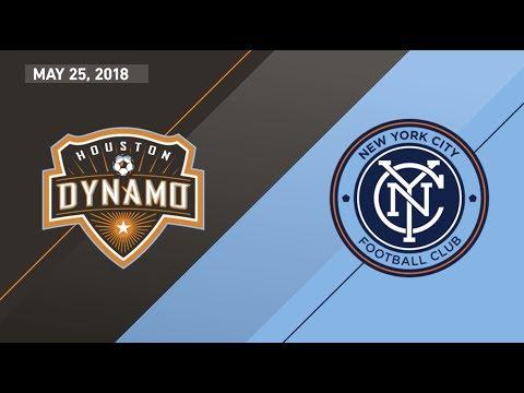 HIGHLIGHTS: Houston Dynamo vs. New York City FC | May 25, 2018
