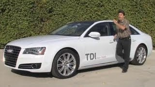 2014 audi a8 l tdi test drive video review