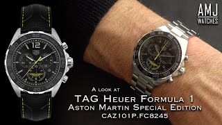 A Look At The Tag Heuer Formula 1 Aston Martin Special Edition Caz101p Youtube