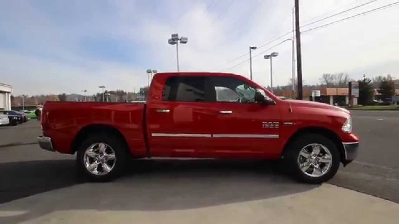 2015 dodge ram 1500 big horn crew cab flame red fs503931 mt vernon skagit youtube