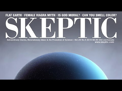 Skeptic Magazine cover article, Flat Earth - narrated by Mark Sargent ✅ thumbnail