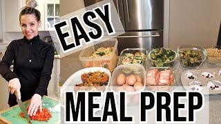 HEALTHY AND EASY MEAL PREP // BEAUTY AND THE BEASTONS 2019