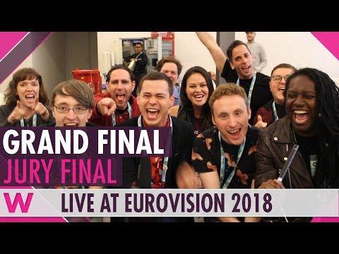 Eurovision 2018: Grand Final Jury Show (Reaction)