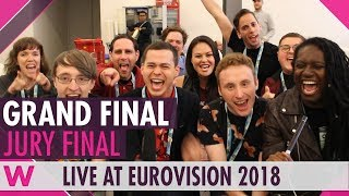Eurovision 2018: Grand Final Jury Show (Reaction)