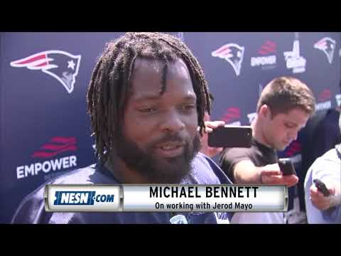 Michael Bennett On Working With Jerod Mayo