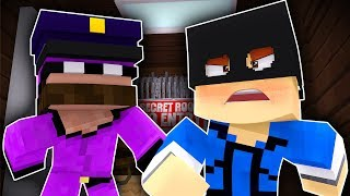 Minecraft Friends - COPS AND ROBBERS !? (Minecraft Roleplay)