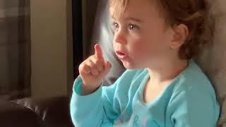 IRISH TODDLER DOESN'T SEEM TO APPROVE OF BRUCE BANNER HULKING OUT ( PLEASE SUBSCRIBE)