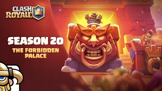Clash Royale: Enter The Forbidden Palace! First Elite Barbarian Emotes! (New Season!)