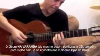 Adamo Prince - Estudo Jazzístico n° 5, para violão