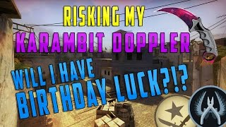 $900 Coinflip! Is Birthday Luck Real?! CS-GO Skins Betting