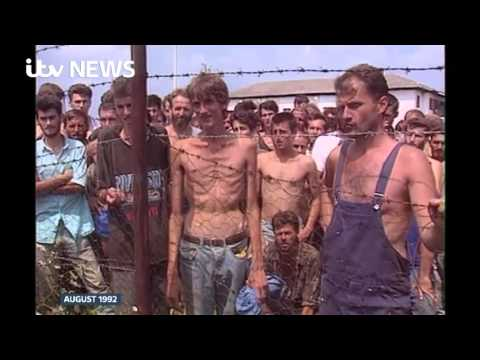 Concentration camp survivor reacts to Karadzic ruling