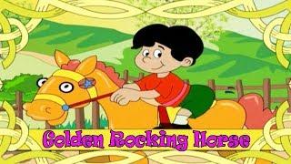 Golden Rocking Horse - Popular English Nursery Rhyme With Lyrics.