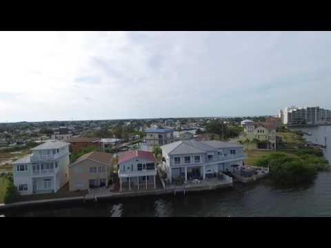 Phantom 3 Flying over Hudson Beach During Morning