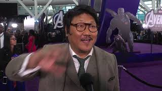 "Benedict Wong attends the ""AVENGERS"" Endgame premiere"