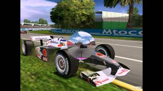 Racing Simulation 3 PC 2002 Gameplay