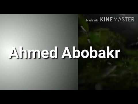 يامن شكوت الضيق _بصوت المنشد أحمد أبوبكر