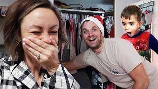 She Hid a Motorcycle in the CLOSET!!