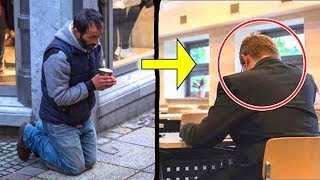 He always gave coins to this beggar, you would not believe under what circumstances he saw him again