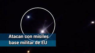 Atacan con misiles base aérea militar de EU en Irak