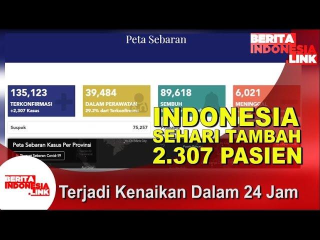 Indonesia Catat Angka 135.123