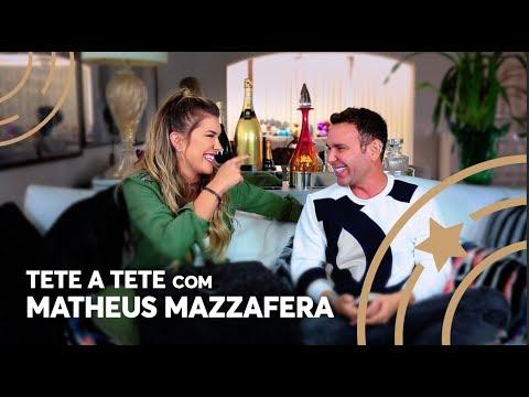 Tete a tete com Matheus Mazzafera - Lore Improta