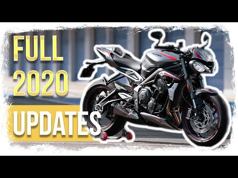 OFFICIAL: 2020 Triumph Street Triple RS Full Specs