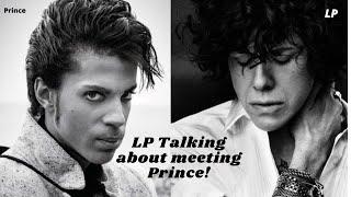 LP talking about meeting Prince with Ximena Sariñana