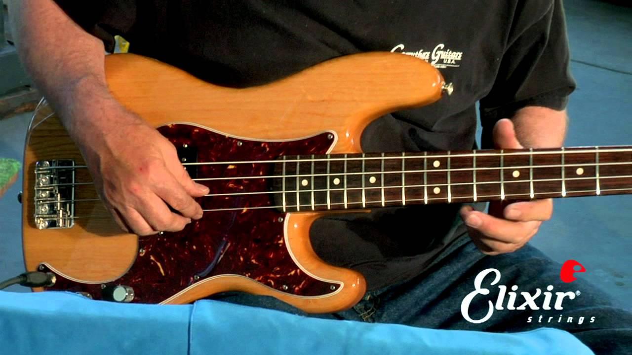 setting up your bass guitar intonation adjustment step 4 of 4 youtube. Black Bedroom Furniture Sets. Home Design Ideas