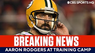 BREAKING: Aaron Rodgers Arrives at Packers Training Camp
