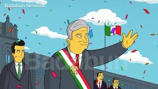 Los Simpson tienen escalofriante predicción para México en este 2018