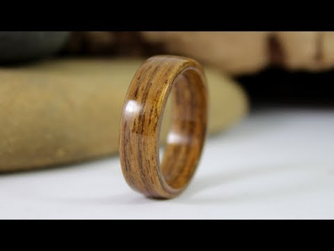How To Make Wooden Rings Without Power Tools (No Lathe, No Power Tools, No Problem)