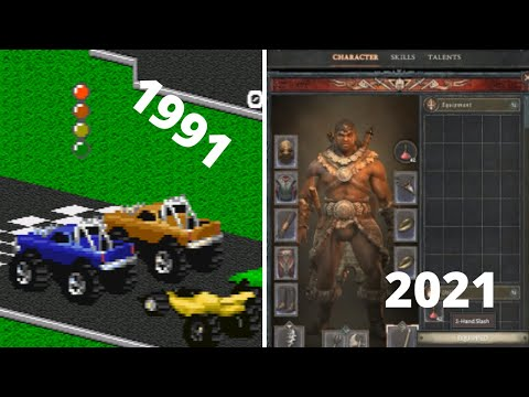 All  BLIZZARD GAMES EVOLUTION 1991-2021
