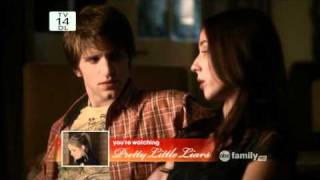 Pretty Little Liars 1x20 Toby and Spencer Scenes